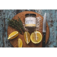 LEMON & THYME INFUSED DORSET SEA SALT