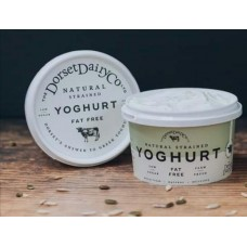 Fat free natural strained yoghurt
